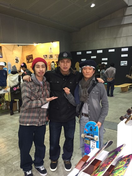 interstyle 中:桜木氏、左:スポタカ 樋口氏