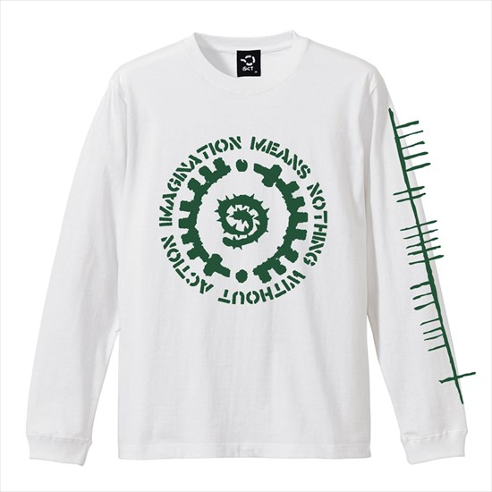 GLYPH LONG SLEEVE TEE(グリフ ロンT) - ACT -
