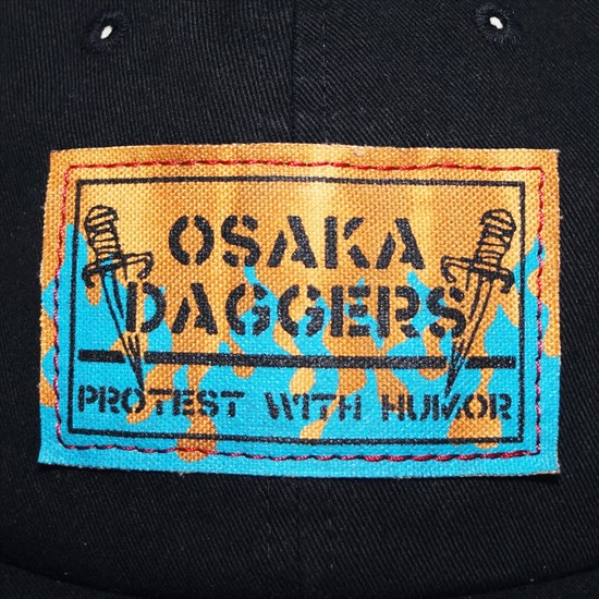 DIY DECOLORED パッチ キャップ [OSAKA DAGGERS]