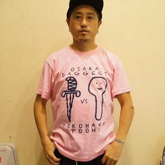 OSAKA DAGGERS vs YOKOHAMA SPOONS Tシャツ [OSAKA DAGGERS]