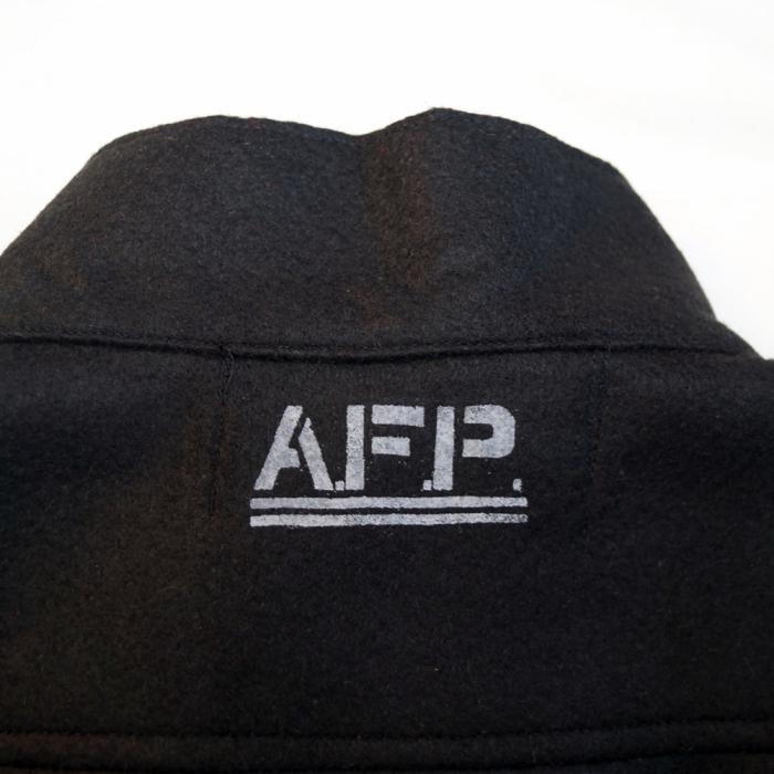 AFP-フェルトジップジャケット詳細