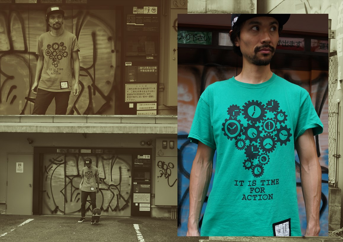 TIME Tシャツ - ACT -