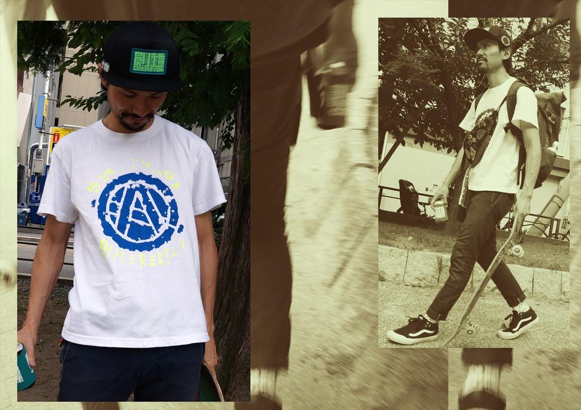 CIRCLE A Tシャツ - ACT -