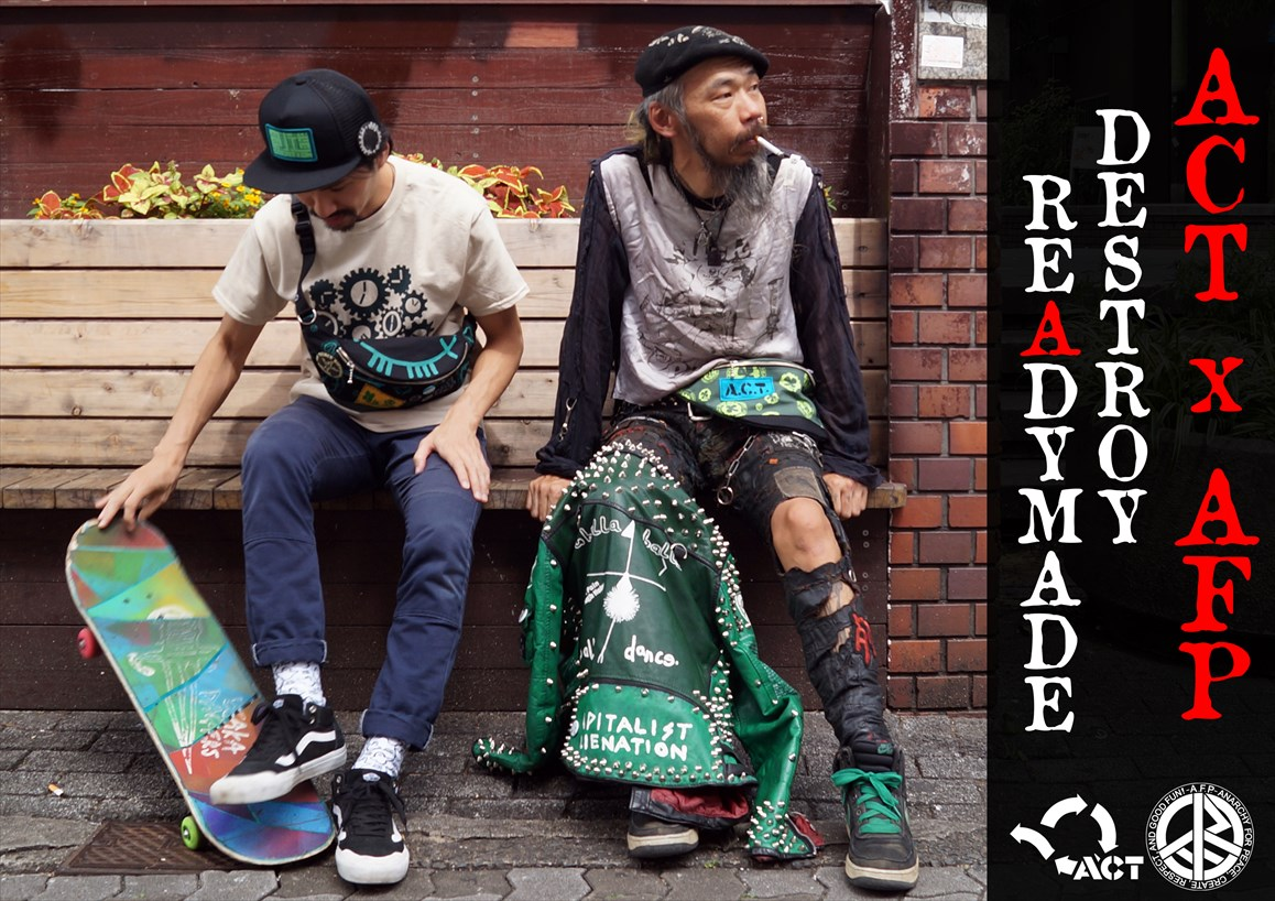 ACT x AFP DESTROY READYMADE 2018 SUMMER&FALL