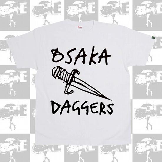 OSAKA DAGGERS オリジナルロゴ Tシャツ : GO SKATEABOARDING DAY SALE