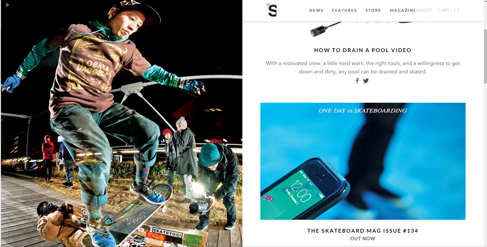 THE SKATEBOARD MAG #134